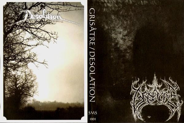 Grisatre/Desolation - split A5 CD