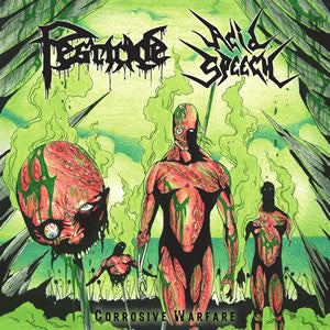 Acid Speech/Pesticide - Corrosive Warfare split CD