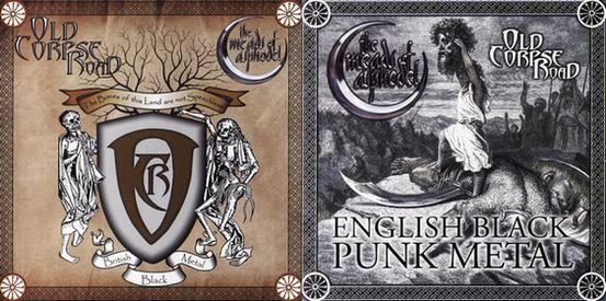Old Corpse Road/The Meads Of Asphodel - The Bones of This Land Are Not Speechless / English Black Punk Metal split CD