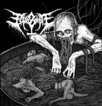 Fetid Zombie - Vomiting in the Baptismal Pool CD