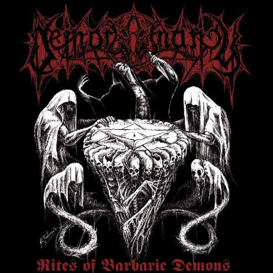 Demonomancy - Rites of Barbaric Demons EP CD