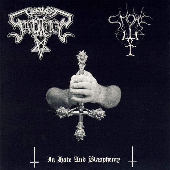 Prosatanos/Smoke - In Hate and Blasphemy split CD