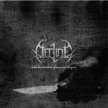 Decline - Cold Declaration of Visceral Disgust CD