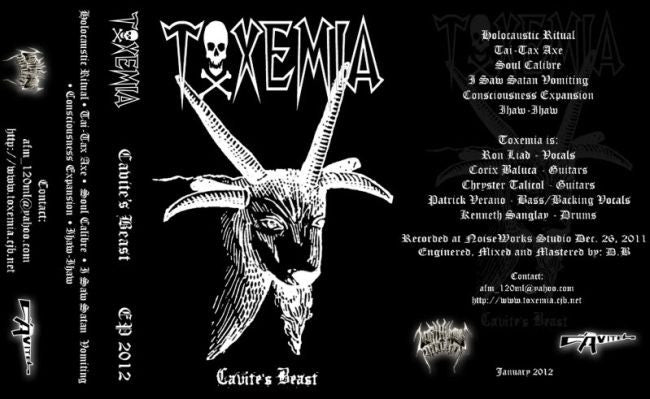 Toxemia - Cavite's Beast Cassette