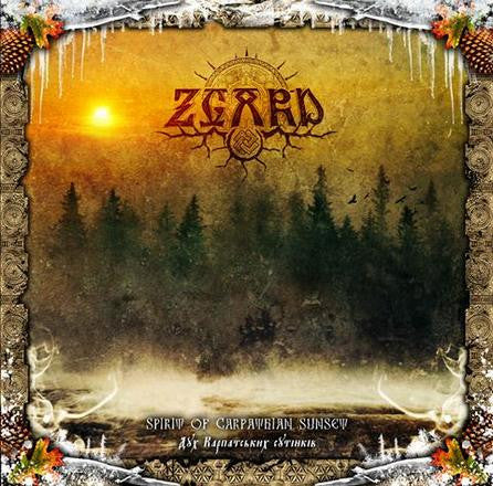 Zgard - Spirit of Carpathian Sunset CD