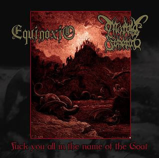 Morbid Funeral/Equinoxio - Fuck You All in the Name... split CD