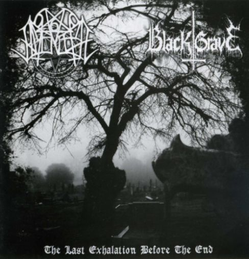 Nocturnal Amentia/Black Grave - The Last Exhalation Before the End split CD