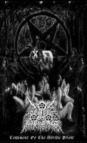 Temple of Baphomet - Testament of the Heretic Priest Cassette