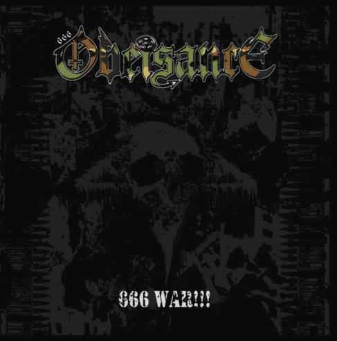 Obeisance - 666 War!!! CD