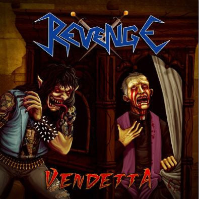 Revenge[COLOMBIA] - Vendetta CD