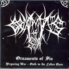 Ornaments of Sin - Preparing War - Oath to the Fallen Ones CD