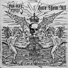 Moloch Letalis/Hate Them All - Czara Smierci split CD