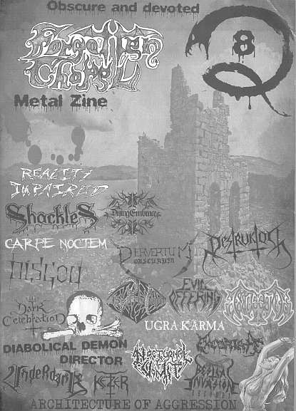 Forgotten Chapel Metal Zine - #8