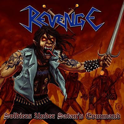 Revenge[COLOMBIA] - Soldiers Under Satan's Command CD