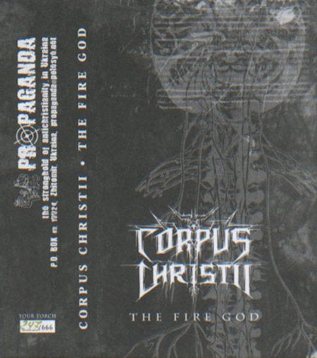 Corpus Christii - The Fire God Cassette