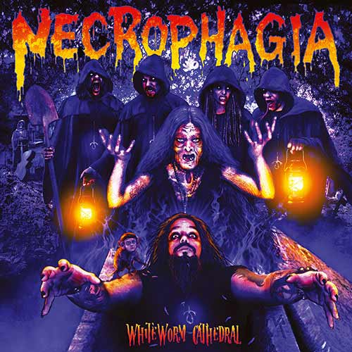 Necrophagia - WhiteWorm Cathedral CD