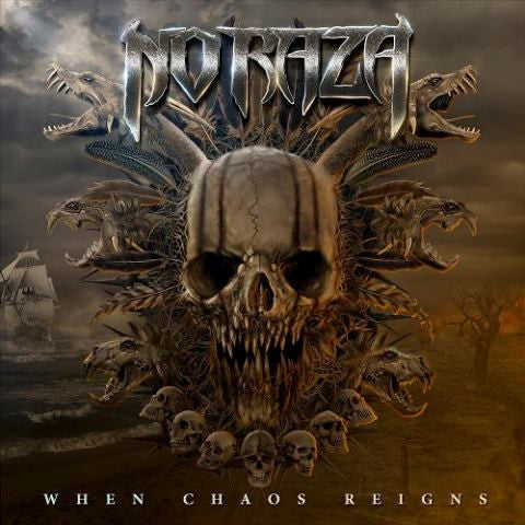 No Raza - When Chaos Reigns CD