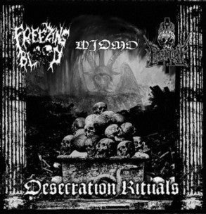 Desecration Rituals - split CD