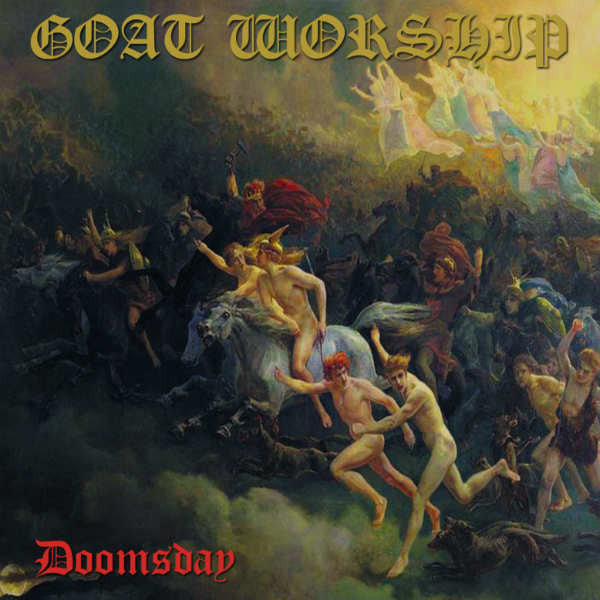 Goat Worship - Doomsday EP CD