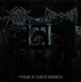 Deathcraft/Unsalvation - Psalms of Chaotic Darkness split DIGI CD