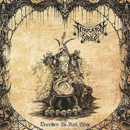 Invocation Spells - Descendent the Black Throne CD