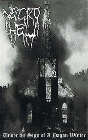 Necrohell - Under the Sign of a Pagan Winter Cassette