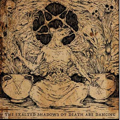 Austral/Cold - The Exalted Shadows of Death are Dancing split CD