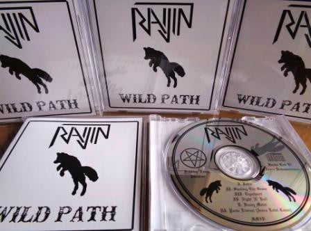 Raijin - Wild Path EP CD