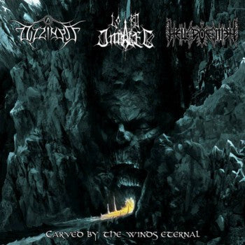Dizziness/Lord Impaler/Hell Poemer - Carved by the Winds Eternal split CD