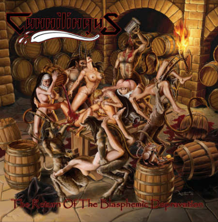 Cunnilingus - The Return of the Blasphemic Depravation CD