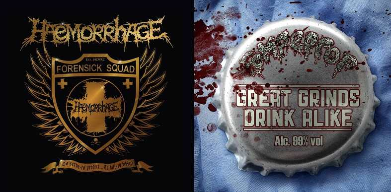 Haemorrhage/Rompeprop - To Serve - To Protect... To Kill - To Dissect/Great Grinds Drink Alike split LP