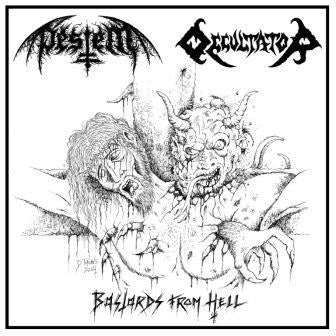 Pestem/Occultator - Bastards From Hell split CD