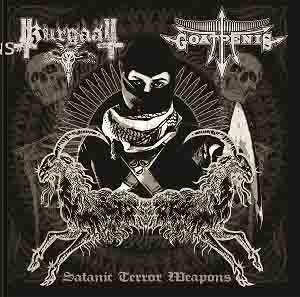Goatpenis/Kurgaall -  Satanic Terror Weapons split CD
