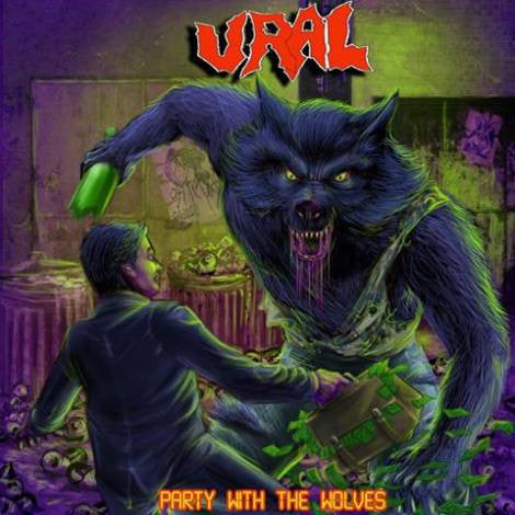 Ural - Party with the Wolves CD