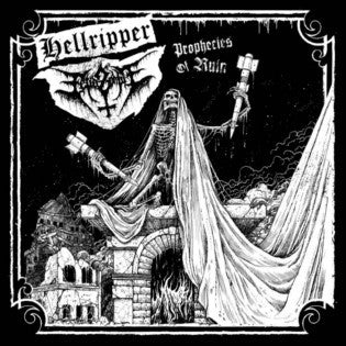 Hellripper/Fetid Zombie - Prophecies of Ruin split CD