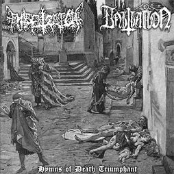 Entsetzlich/Initiation - Hymns of Death Triumphant split CD