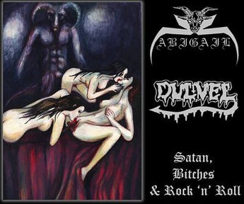 Abigail/Dulvel -  Satan, Bitches & Rock 'n' Roll split CD