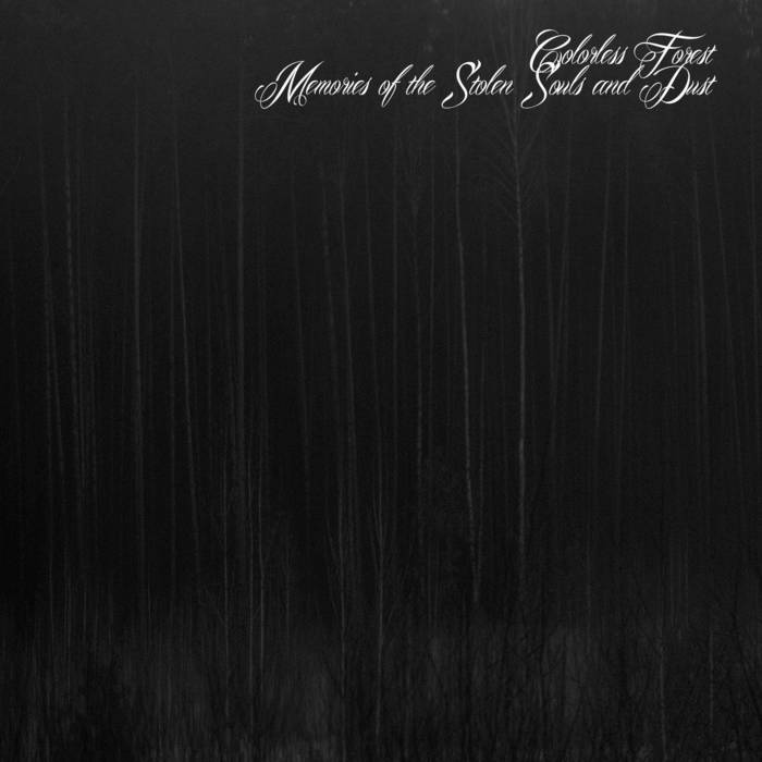 Colorless Forest - Memories of the Stolen Souls and Dust CD