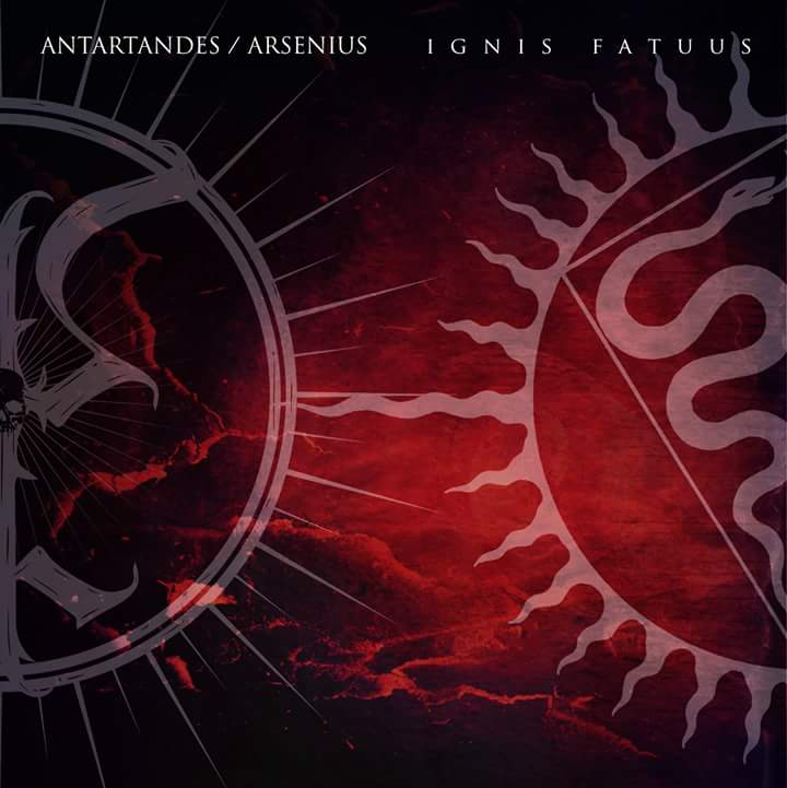 Antartandes/Arsenius - Ignis Fatuus split CD