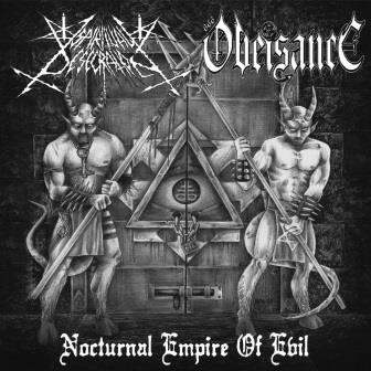 Spiritual Desecration/Obeisance - Nocturnal Empire of Evil split CD