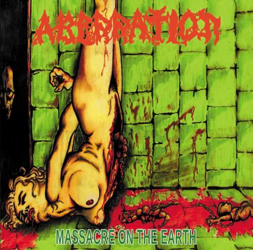 Aberration - Massacre on the Earth CD