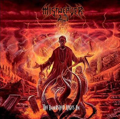 Mistweaver - The Bloodshed Rages On EP CD