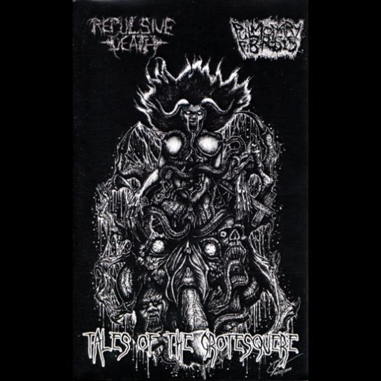 Repulsive Death/Pulmonary Fibrosis - Tales of the Grotesque split Cassette