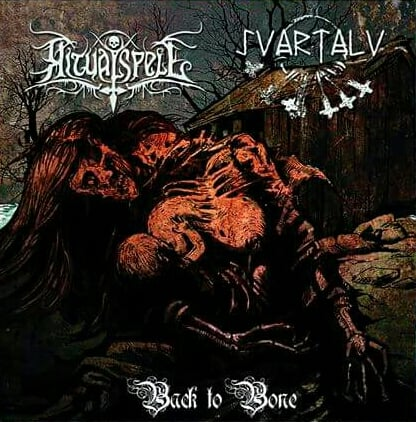 Ritual Spell/Svartalv - Back to Bone split CD