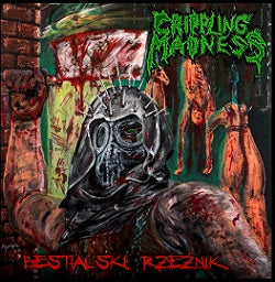Crippling Madness - Bestialski rzeźnik DEMO CD