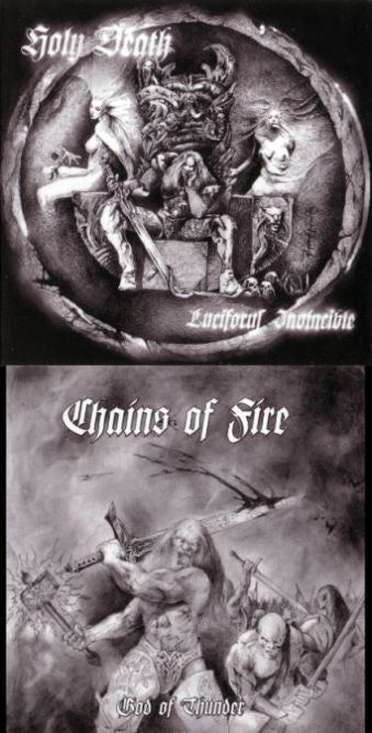 Chains of Fire/Holy Death - split CD