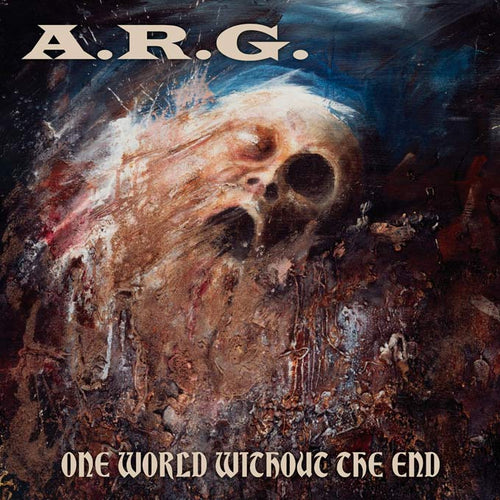 A.R.G. - One World Without the End TRANSPARENT BLUE LP
