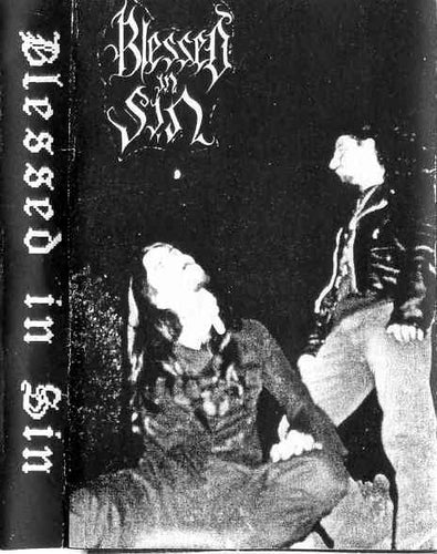 Blessed In Sin -  S/T Cassette