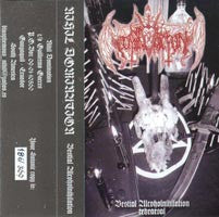 Nihil Domination - Bestial Alcoholnihilation TAPE