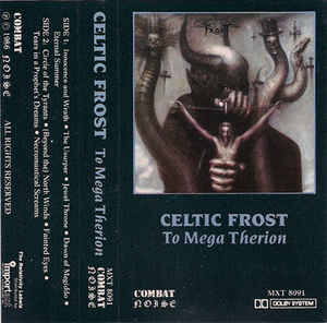Celtic Frost - To Mega Therion Cassette